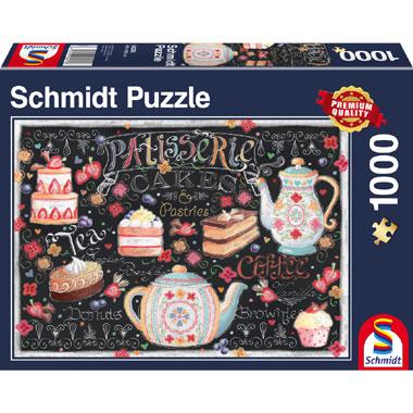 Patisserie puzzel - 1000 stukjes