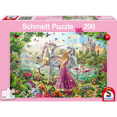 De fee in het betoverde bos puzzel - 200 stukjes