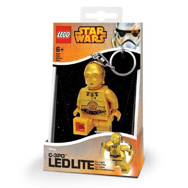 LEGO C3PO sleutelhanger met licht