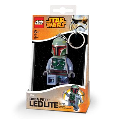 LEGO Boba Fett sleutelhanger met licht