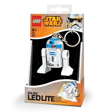 LEGO R2D2 sleutelhanger met licht