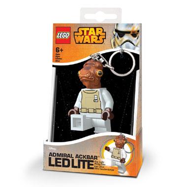 LEGO Admiral Ackbar sleutelhanger met licht