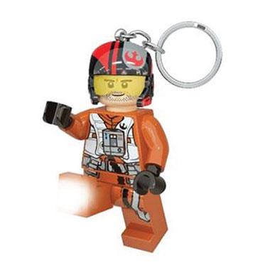 LEGO Poe Dameron sleutelhanger met licht