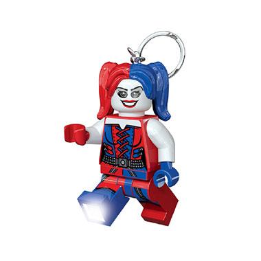 LEGO Harley Quinn sleutelhanger met licht