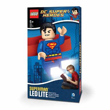 LEGO Superman hoofdlampje