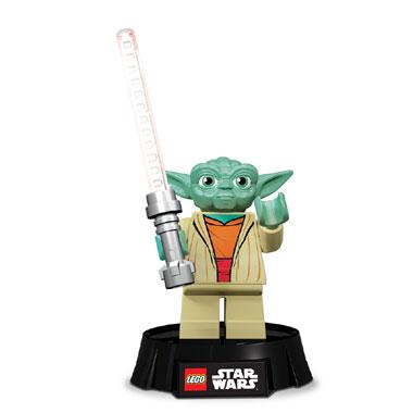 LEGO Yoda bureaulamp