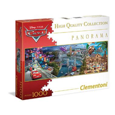Disney Panorama Cars puzzel - 1000 stukjes