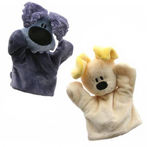 Woezel en Pip handpoppen