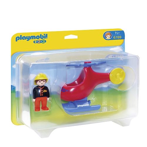 Playmobil - brandweerhelikopter - 6789