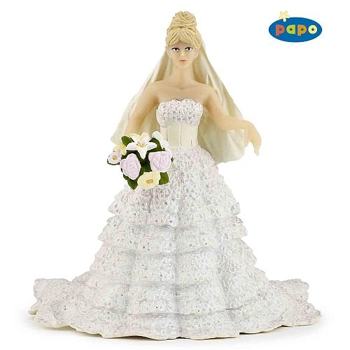 Papo - bruid met witte