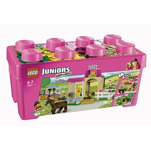 Lego juniors - 10674 ponyboerderij