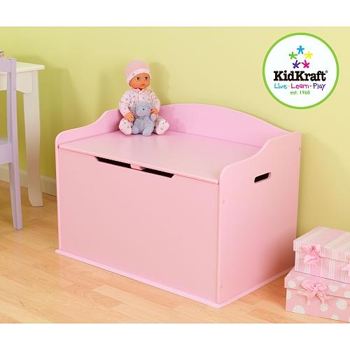 Kidkraft - austin speelgoedkist - roze