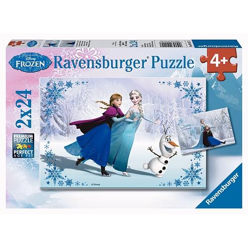 Ravensburger - puzzel  2 x 24 stukjes
