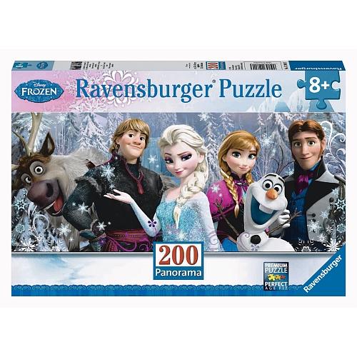 Ravensburger - puzzel panorama 200 stukjes