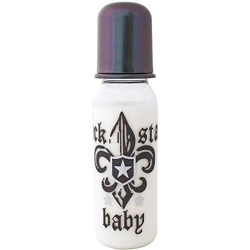 Rock star baby - fles fleur de lis donker