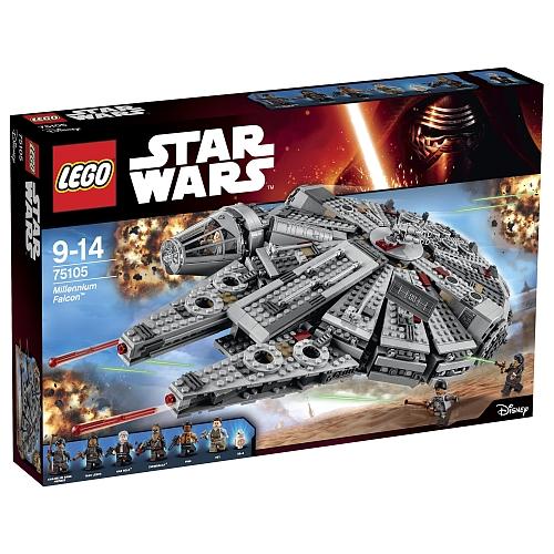 Lego star wars - 75105 millennium falcon