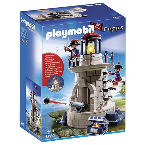 Playmobil - soldaten met vuurtoren - 6680