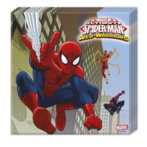 Ultimate spider-man web warriors - 20 servetten