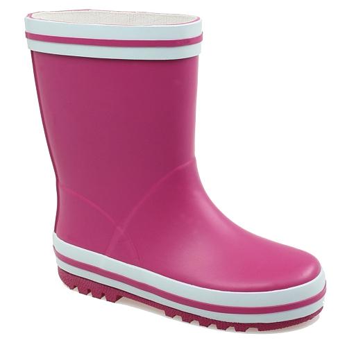 Beck - kinder regenlaarzen basic; pink