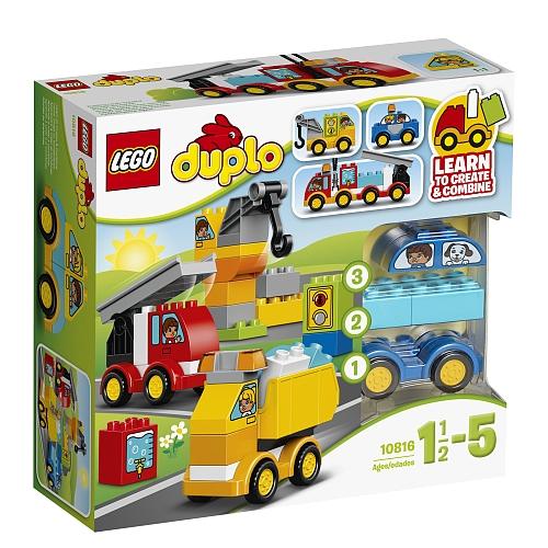 Lego duplo creative play - 10816 mijn eerste voertuig