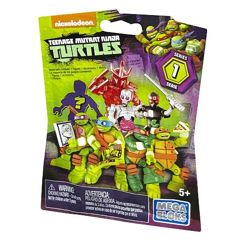 Mega bloks - teenage mutant ninja turtles: micro-action figuren
