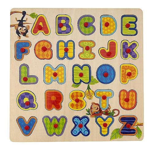 Universe of imagination - puzzle frame alfabet