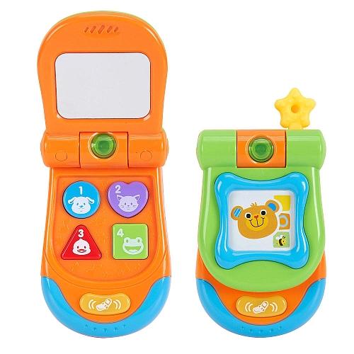 Bruin - mijn eerste telefoon