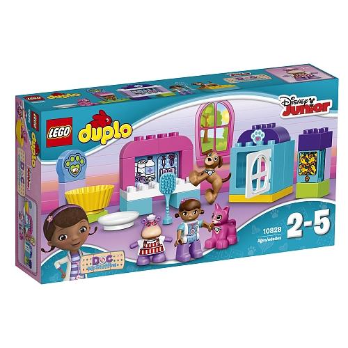 Lego duplo - 10828 doc mcstuffins: dierensalon