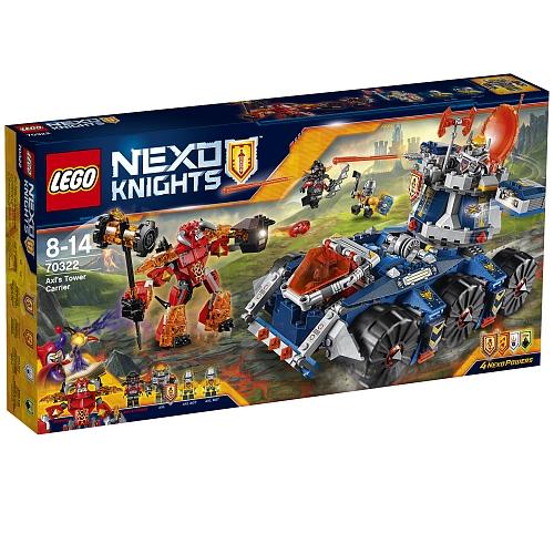 Lego nexo knights - 70322 axl's tower carrier