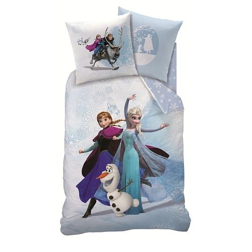 Disney frozen - enjoy beddengoed (135x200 / 80x80)
