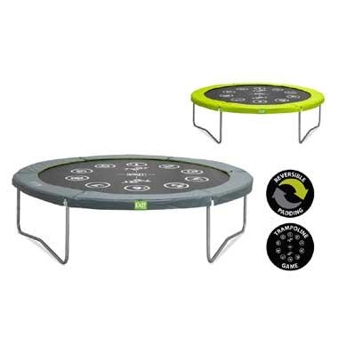 EXIT Twist trampoline rond - 305 cm - groen
